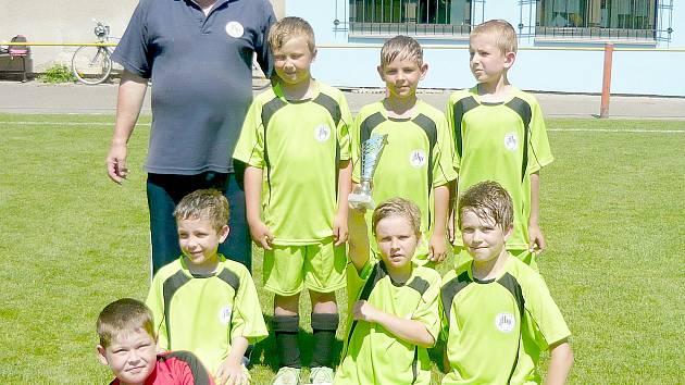 Druhý celek finále OP mladších přípravek FK Hořovicko