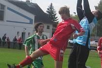 Fotbal, divize dorostu: Hořovicko - Krumlov 5:4