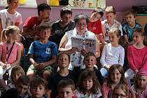 Týden čtení dětem v ČR, do akce se zapojil i Berounský deník.