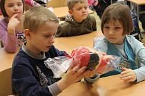 Záchranářky učil školáky první pomoc