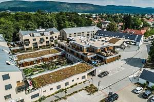 Prestižní titul Stavba roku Středočeského kraje 2019 získalo DOB Centrum Dobřichovice.