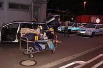 Na hranicích odstavili vozidlo. Zavazadla musela ven. Honza auto znovu viděl až po téměř ročním pátrání.