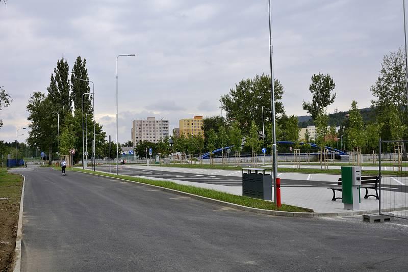 Nové P+R parkoviště Na Podole
