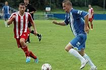 Petr Švancara v dresu FK Králův Dvůr