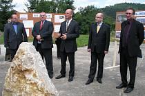 Návštěva premiéra Bohuslava Sobotky na Berounsku.