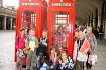 Osovští školáci se vypravili na výlet do Velké Británie