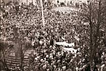 Listopad 1989 v Berouně