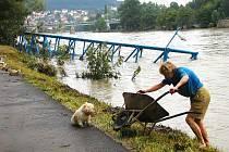 Povodeň v Berouně.
