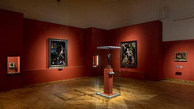 Výstava Rudolf II. Umění pro císaře - pohled do expozice.