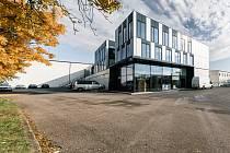 Na snímku administrativní budova firmy Vafo Praha.