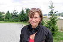 Motorkářka z Berouna Jitka Novotná