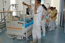 Místem cvičení Požár byla Nemocnice Hořovice