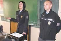 Přednáška o drogách na počapelské základní škole