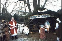 Živý betlém je v Otročiněvsi letitou tradicí