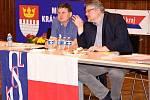Z volební valné hromady TJ Sokol v Králově Dvoře.