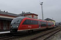 Vlak společnosti Arriva.