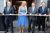 Slavnostní otevření nově zrekonstruovaného domu Plzeňka.