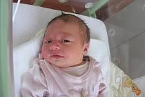 Do Staré Hutě si rodiče Barbora a Štěpán odvezou druhorozenou dcerku Františku Kouklíkovou, která přišla na svět v pondělí 21. června s váhou 3,30 kg a mírou 48 cm. Vyrůstat bude Faninka se sestřičkou Madlenkou (2 r. 11 m.).