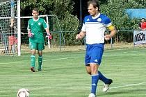 Kapitán FK Hořovicko Luděk Kaufman