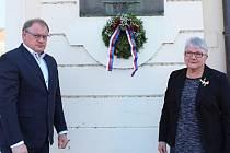 Berounští si připomněli 78. výročí hrdinského činu československých vojáků Jozefa Gabčíka a Jana Kubiše.