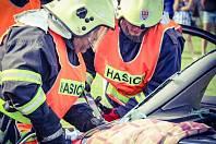 Z činnosti dobrovolných hasičů ve Zdicích.