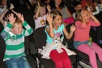 Michal Nesvadba v Berouně bavil děti i jejich rodiče.