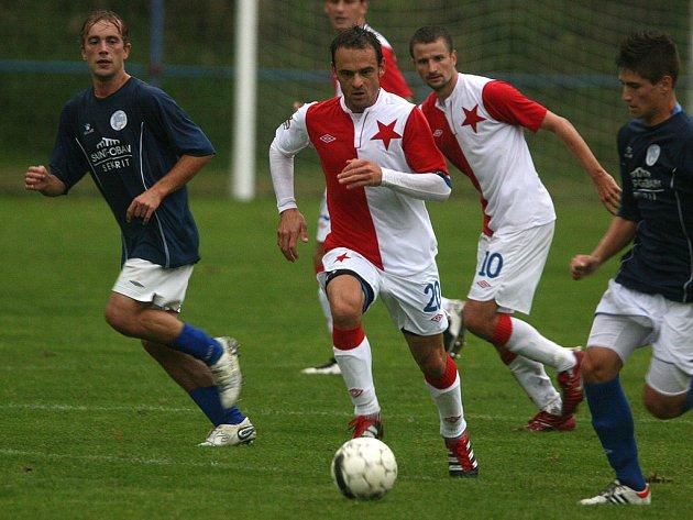 Hořovicko prohrálo v přátelském utkání se Slavií 0:5