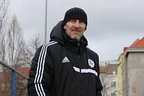 Trenér Hořovicka Petr Vrabec.