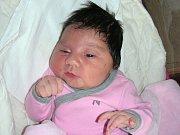 PĚKNOU váhou 4,04 kg a mírou 48 cm se mohla po narození pochlubit Elena Hlubučková, prvorozená dcerka rodičů Kristýny Pagačové a Jaroslava Hlubučka z Tetína. Elenka se narodila 31. března 2017.