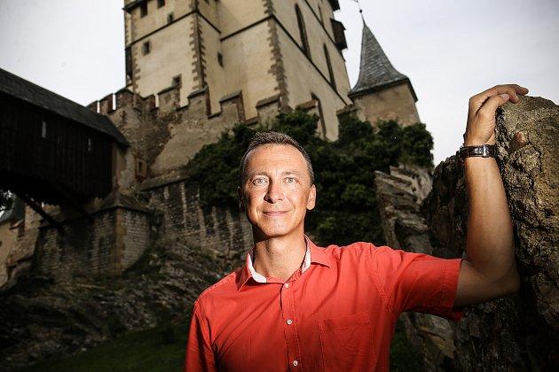 Kastelán Karlštejna Lukáš Kunst: Na Karlštejně je pro mě nejzajímavější samotná podstata hradu
