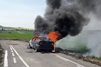 K požáru vyjeli hasiči HZS Beroun a SDH Chyňava.