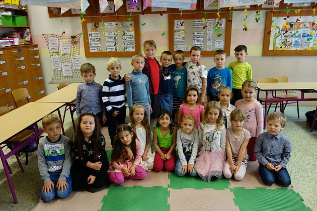 3. základní škola vBerouně: třída 1.C.