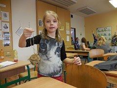 Školní družina 4. Základní školy Beroun se zapojila do prvního kola přírodovědného projektu Minuta pro Zemi