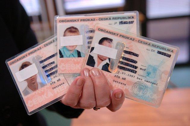Nezapomeňte na výměnu občanského průkazu