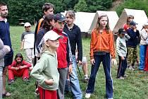 Tábor v Otročiněvsi.