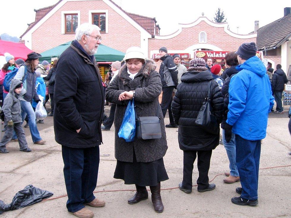 Poberounský masopust se konal v Zadní Třebani