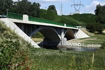 Dolanský most na řece Berounce.