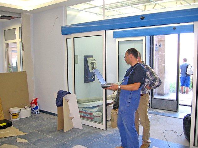 Hořovická nemocnice pokračuje v renovaci