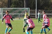 V utkání žákovské I. A třídy prohrála Loděnice se Slaným 3:6, o dvě domácí branky se postaral Cipro, jednu přidal Wagner.