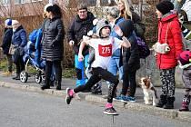 Silvestrovského běhu a závodu horských kol se zúčastnilo více jak 160 závodníků.