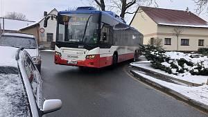 Problémy autobusů v berounské čtvrti Jarov