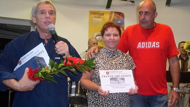 Starostka Nového Jáchymova předala tři čestná občanství.