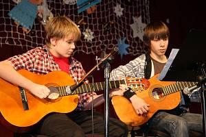 Vánoční koncert žáků ze SZUŠ M. Lidinské