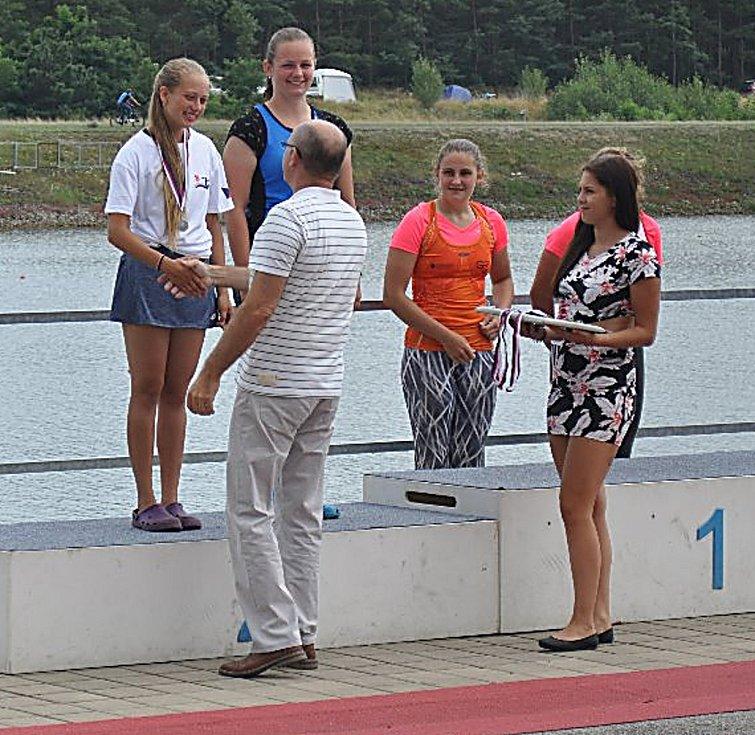 Hned pět cenných kovů přivezli závodníci Sokola Králův Dvůr.