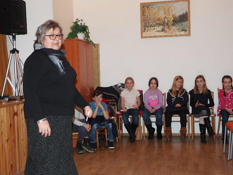 Tříkrálový koncert na zámku v Nižboru.