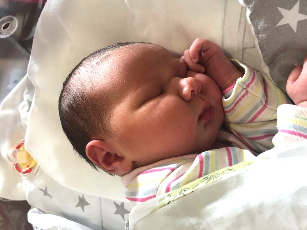 Malvína Onderková, Beroun-Závodí. Narodila se 25. listopadu 2020. Po porodu vážila 3,60 kg a měřila 51 cm. Rodiče jsou Adéla a Radim Onderkovi, bratr Dominik. (porodnice Hořovice)
