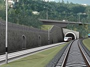 Tunel by měl být dlouhý zhruba 25 kilometrů. Takto vypadala jeho původní vizualizace.