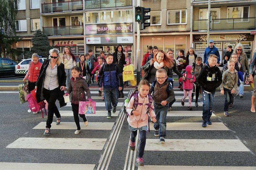 Cesta do školy, ilustrační foto