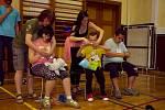 Děti ze speciálních škol z Žebráka a Rakovníka si užily zábavného programu.