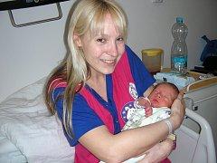 Tobiáš Kotouč z Loděnice se narodil 4. dubna 2015 a je prvorozeným synem manželů Martiny a Davida. Chlapeček vážil po porodu 2,65 kg a měřil 44 cm. Tobiáškova babička Ivanka slavila 4. dubna svátek a vnouček je pro ni nekrásnějším dárkem.